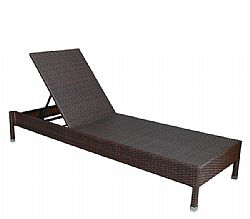Ξαπλώστρα STEEL/Wicker EasyLife 2472