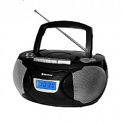 RADIO CD Player Φορητό ROADSTAR RCR-3650UMP/BK