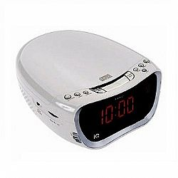 CLOCK ALARM Radio μέ CD IQ CD-600